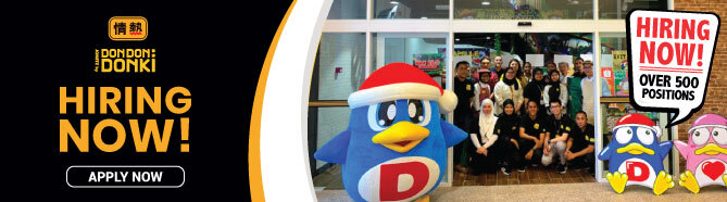 Don Don Donki is now hiring on FastJobs!
